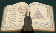 S4e26 Snail silhouetted against Enchiridion.png