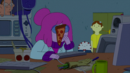 S5e21 PB with pizza on her face