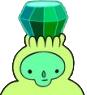 Emerald Princess' crown