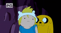 S5 e13 Finn and Jake confused