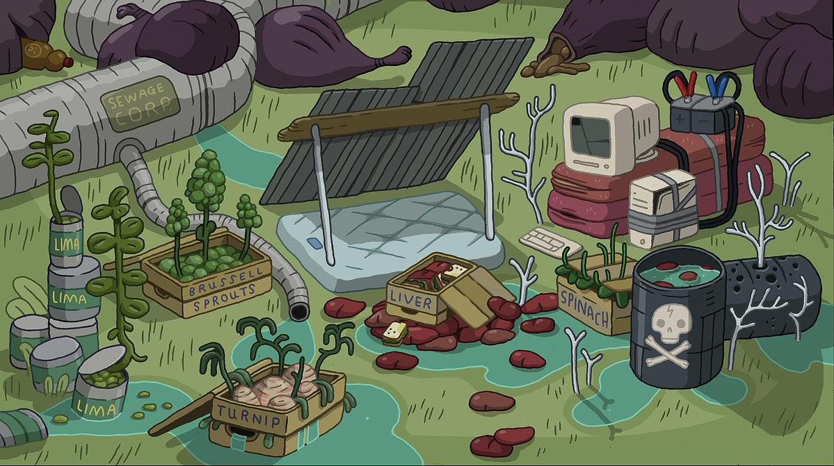 Marceline's Hobo Camp