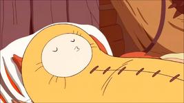 S2e19 Finn sleeping