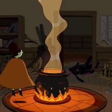 S5e29 Maja's cauldron room.png