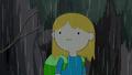 S4 E23 Finn with wet hair