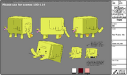 Modelsheet Tree Trunks Mc