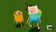 S5e5 Finn and Jake walking