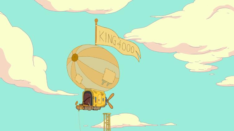 King of Ooo's Blimp