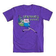 Finn NEPTR Sneaking Shirt Purple