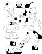 BMO concept art by Michael DeForge No. 11