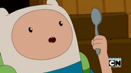 S5e38 Finn with spoon