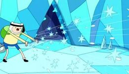 S2e11 Finn Caltrop Hail Storm