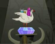 Swan on Crystal Eye