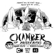 Chamber of the frozen blades poster