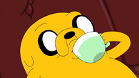 S10e2 Jake drinking coffee