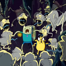 S2e9 finn and jake attacked by chud.png