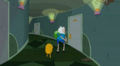 S5 e25 Finn and Jake about to bust down a door