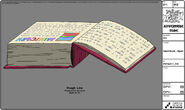 Modelsheet giantbook - open