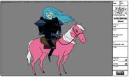 Modelsheet sir slicer on horse