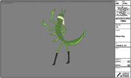 Modelsheet stingerbug