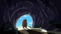 S4 E7 Bear entering the cave