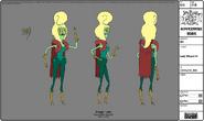 Modelsheet ladywizard1