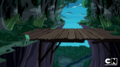 S5 e17 Bridge overlooking the forest