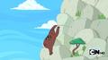 S4e7 bear climbing a mountain