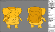 Modelsheet erik - leadJakescientist - withbackpack