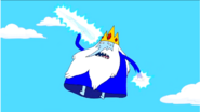 S5 e30 Ice King about to throw icecicle at FP