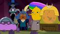 S10e13 LSP, Marceline, Duke of Nuts, Lemongrab and Slime Princess
