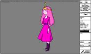 Modelsheet princessbubblegum indress specialalarmcolor