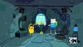 S2e17 Finn and Jake dancing with Princess Plant