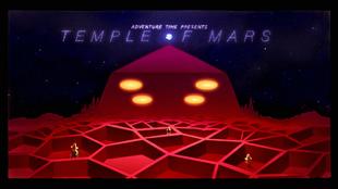 Titlecard S10E11 templeofmars