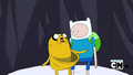 S2e17 Jake offers Finn a ride in his paunch