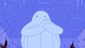 S3e17 Snow Golem holding melted finger
