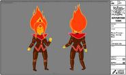 Modelsheet flameprincess king normaleyes