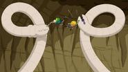 S6e21 Double worm takedown