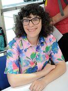 Rebecca Sugar at San Diego Comic-con 2018