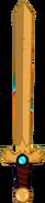 Shark sword before