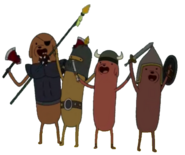 Hot Dog Knights Group