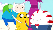 S2e17 Finn and Jake's smiles disappear