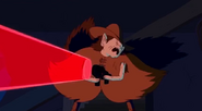 S5 e1 Farmworld Marceline firing gun