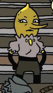 A lady lemongrab