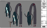 Modelsheet witch