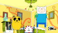 S2e17 Finn and Jake crossing their eyes