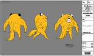 Modelsheet Finn In Jake Suit