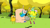 S1e20 Magic Man with Finn and Jake