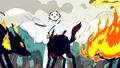 S3e17 Snow Golem encounters Fire Wolves