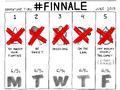 Adventure Time season 6 -Finnale line-up