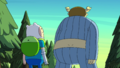 S8e27 Why isn't it working out being myself (Question Mark) Finn's off having fun defeating losers.